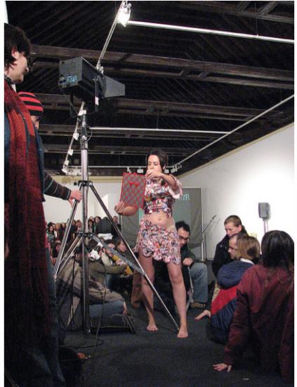 "Séville, 2007, Festival ""Contenedores Arte de Accion"""